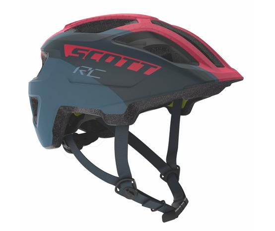 Scott Spunto Junior Plus Helm dark blue/pink RC
