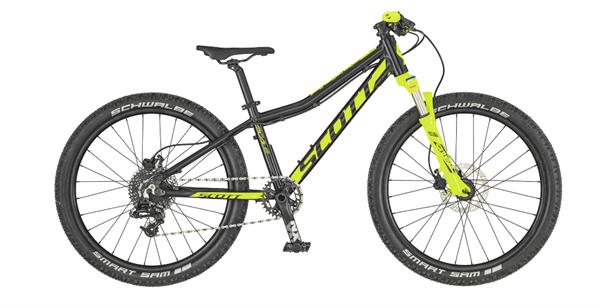 Scott Bike Scale RC 24 gelb/schwarz 2019 Kinderrad