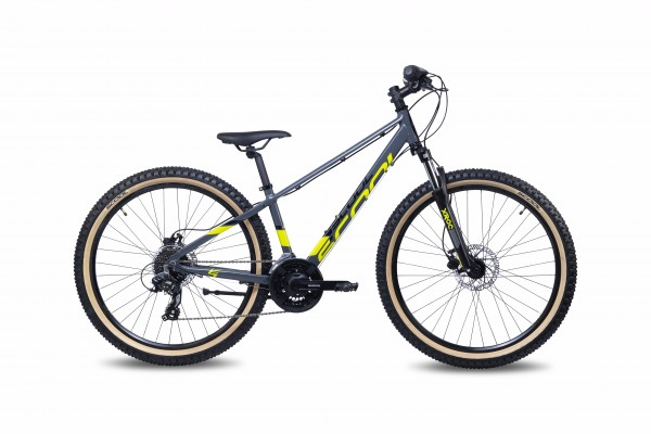 S´COOL Xroc Disc 26 alloy 21-speed altus grey lemon #Varinfo