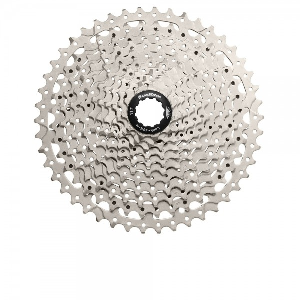 Sunrace Cassette CSMS8 10-speed 11-36 Silver