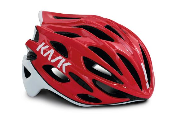 Kask Helm Mojito X rot/weiß