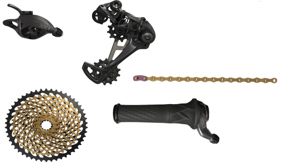 SRAM Upgrade Kit XX1 Eagle - 1x12-fach - schwarz