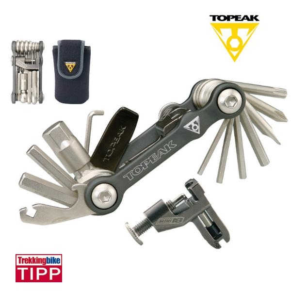 Topeak Mini 18+ Faltwerkzeug 18 Funktionen