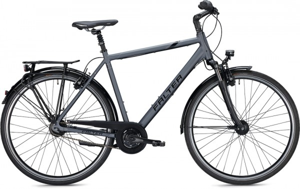 "Falter City/Urbanbike C 6.0 Herren L (56) 28"" Matt anthrazit"