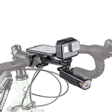 Topeak Ridecase Multimount Adapter for Camera, Lighting, Battery and Camera