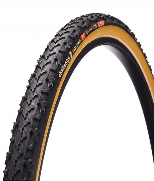 Challenge Baby Limus black / brown - Cyclocross Tyre