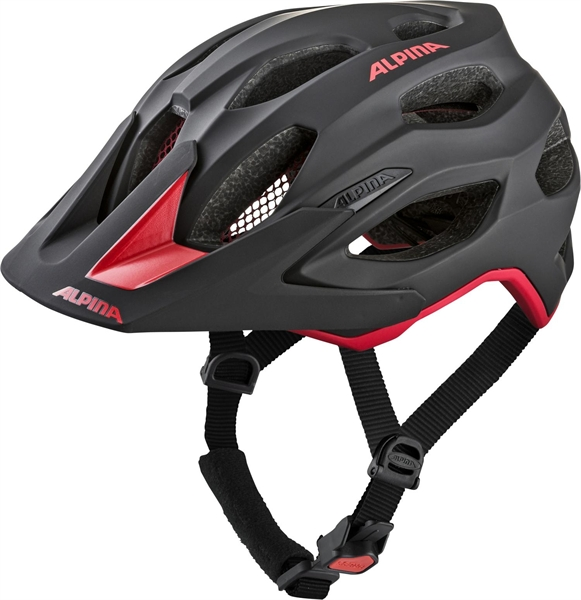 Alpina Carapax 2.0 Helm black-red