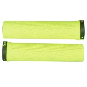 Syncros Pro Lock-On Griffe neon yellow