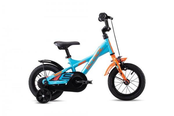 S´COOL XXlite 12 steel 1-speed petrol/orange