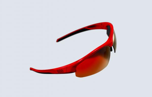 BBB Impress Sports Glasses shiny red