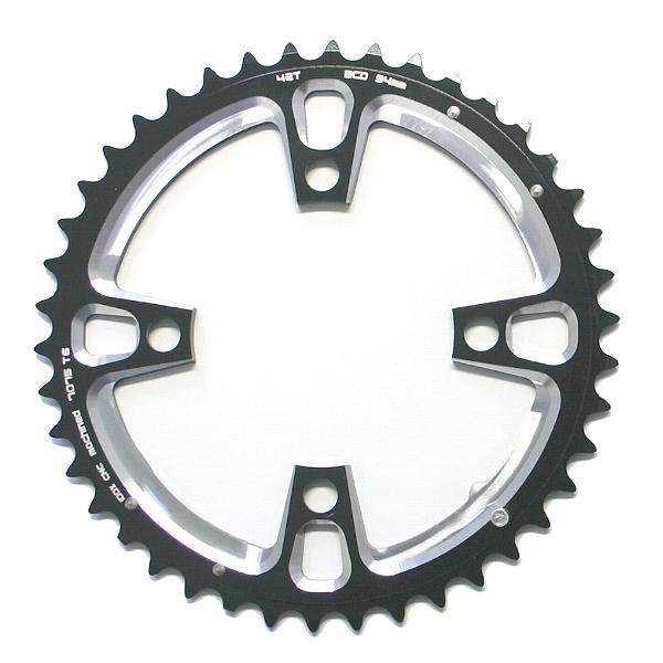 Fun Works N-Light Chainwheel for 2-Speed MTB Crank 94mm 42 teeth