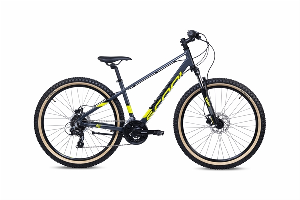 S´COOL troX 27,5 EVO alloy 21-speed black/yellow #varinfo