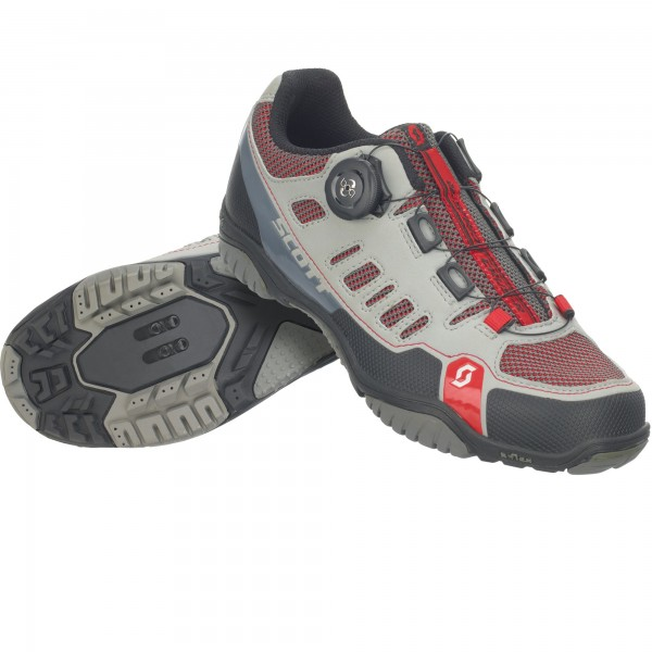 Scott Sport Crus-R Boa Lady Shoe grey/red