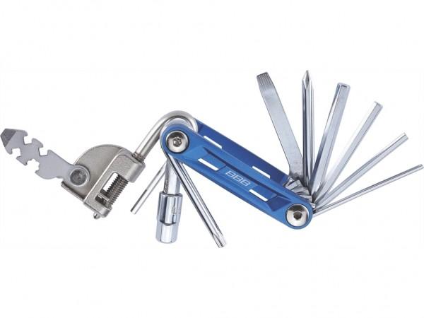 BBB Multifunktionswerkzeug PrimeFold L BTL-48L blau/silber