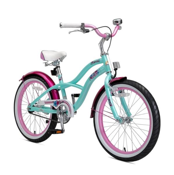 Bikestar Premium Kinderfahrrad Cruiser 20 Zoll pepper mint