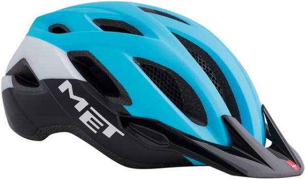 Met Crossover MTB Helmet Cyan/Black #Varinfo