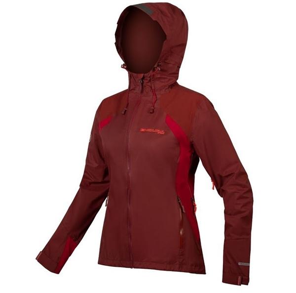 Endura WMS MT500 waterproof jacket II Women cacao