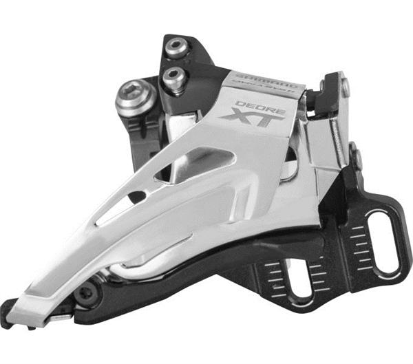 Shimano Deore XT Derailleur FD-M8025 2x11 Top-Swing, direct mounting depth