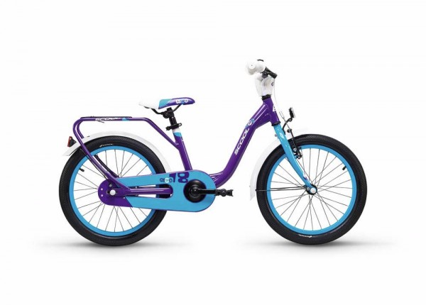 S´COOL niXe 18 alloy 1-speed violet/blue