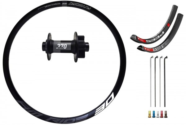 "DT Swiss 370 Boost Disc IS Custom Front Wheel MTB 27,5"""