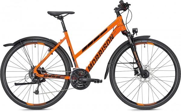 """Morrison Crossbike X 3.0 Women 28"""" shiny orange"""