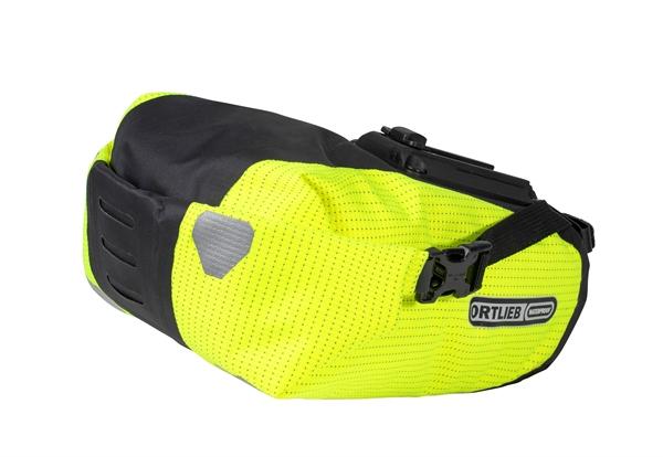Ortlieb Saddle-Bag Two High Visibility neon yellow / black reflex