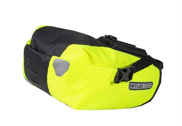 Ortlieb Saddle-Bag Two High Visibility neon yellow-black reflective