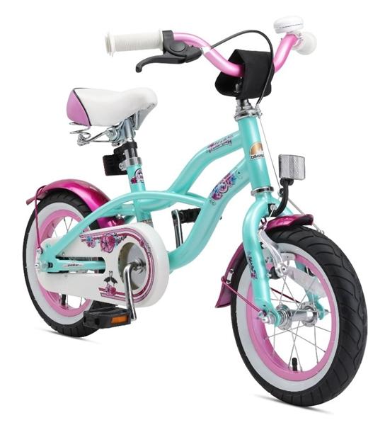 Bikestar Premium Kinderfahrrad Cruiser 12 Zoll pepper mint