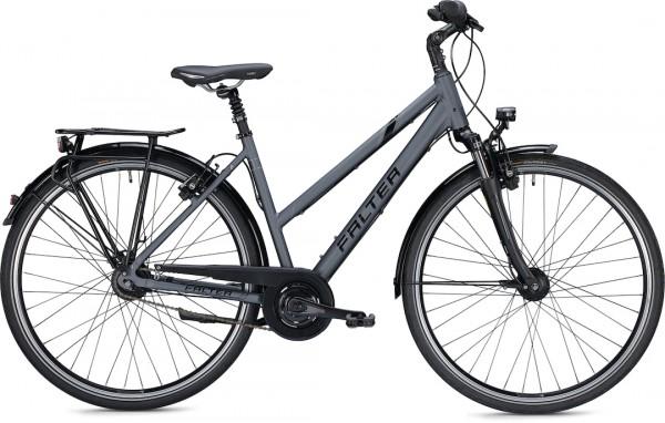 "Falter City / Urbanbike C 6.0 Trapez S (44) 28 ""Matt anthracite"