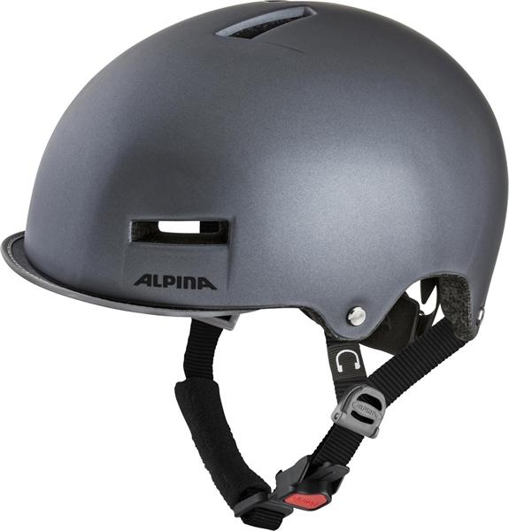 Alpina Grunerlokka Helm titanium