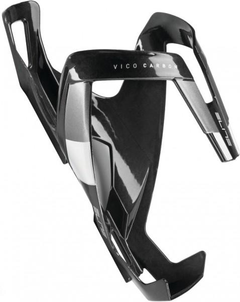 Elite Vico Carbon Flaschenhalter schwarz-weiß matt