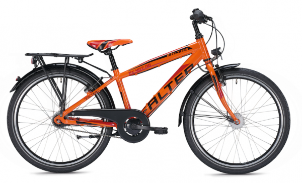 Falter FX 407 ND 24 inch Diamant orange/black Kids Bike