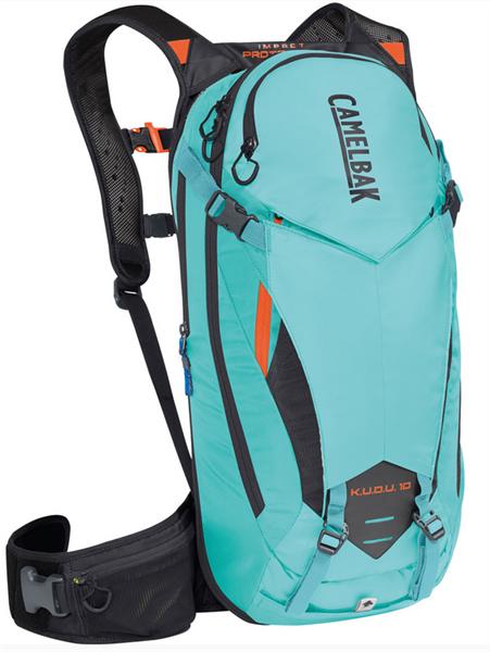CAMELBAK hydration backpack K.U.D.U. Protector 10 blue/laser orange