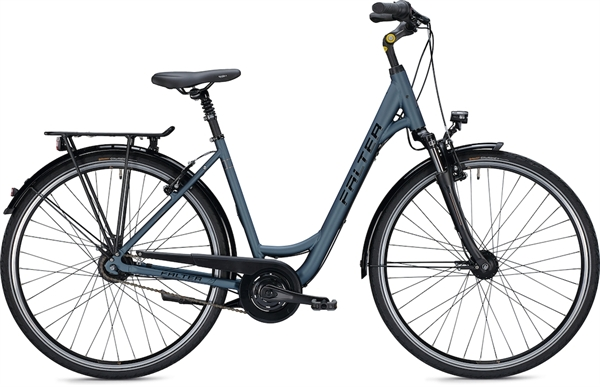 "Falter City / Urbanbike C 5.0 XS (42) 26 ""Matt blue"