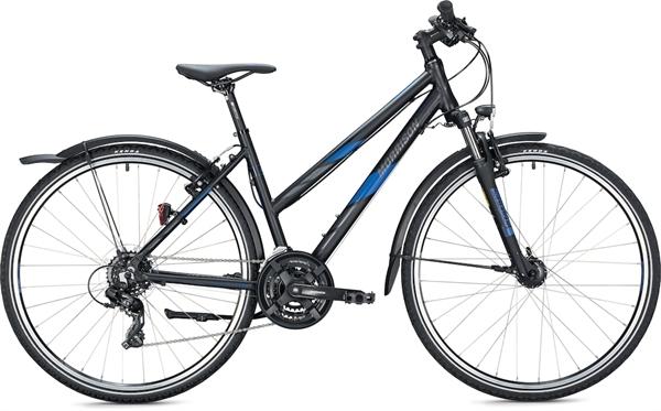"Morrison Crossrad X 1.0 Damen 28"" black-dark blue"