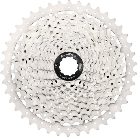 Sunrace Cassette CSMS3 10-speed 11-42 silver