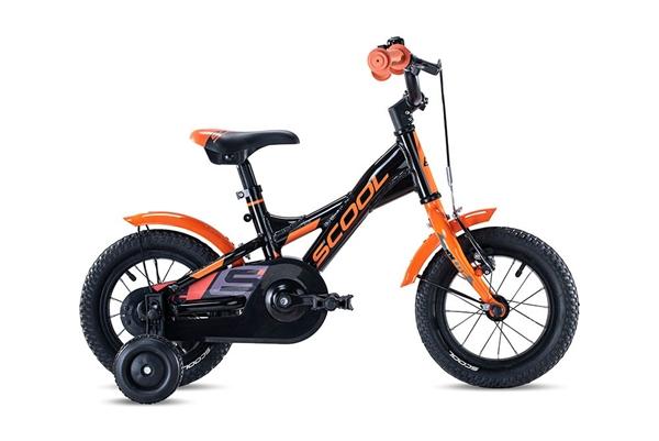 S´COOL XXlite 12 alloy 1-speed black/orange