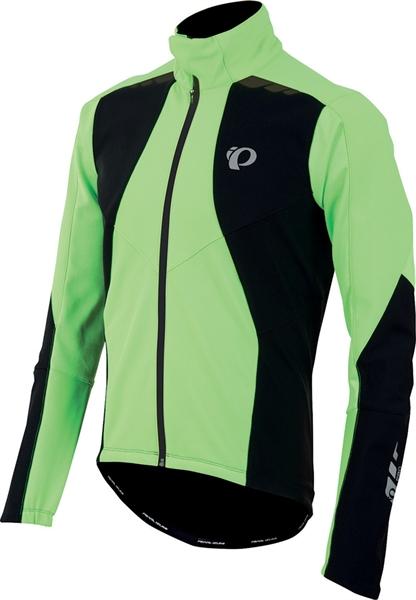 Pearl Izumi P.R.O. Softshell 180 Jacket screaming green/black %