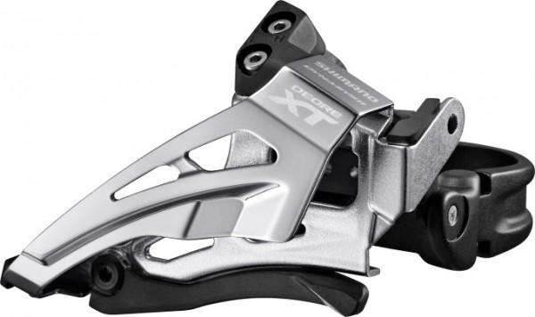 Shimano Deore XT Umwerfer FD-M8025 2x11 Top-Swing, Schelle tief