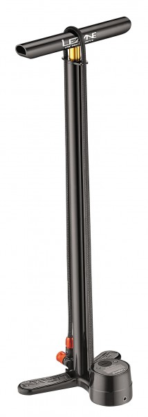 Lezyne CNC Digital Drive Standluftpumpe schwarz-glänzend