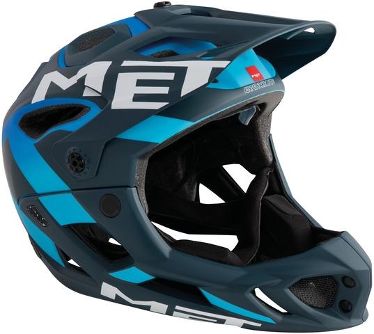 Met Parachute MTB-Helm Blue/Cyan