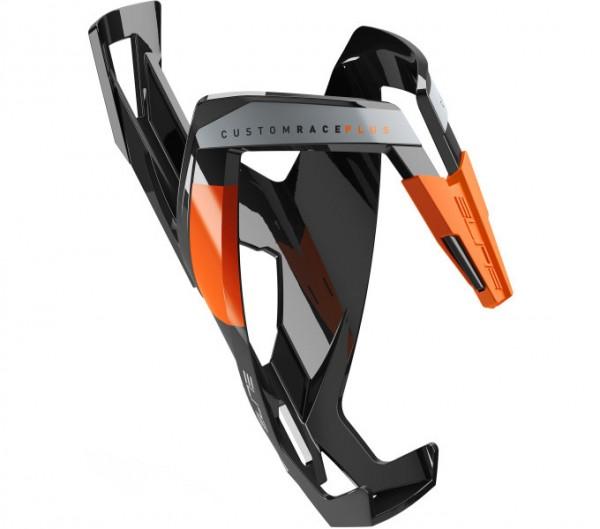 Elite Custom Race Plus Flaschenhalter schwarz/orange glänzend