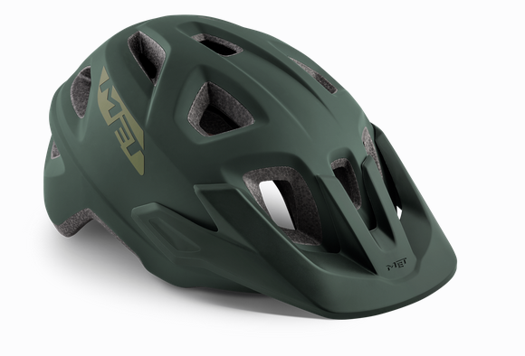 Met Echo Helmet army green matt