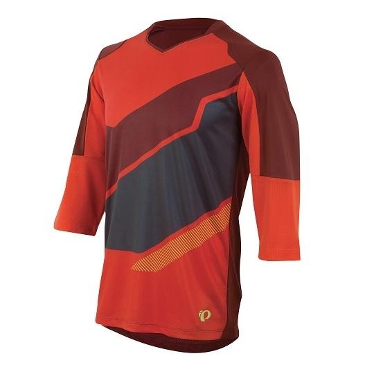 Pearl Izumi Launch 3/4 Sleeve Jersey mandarin red %