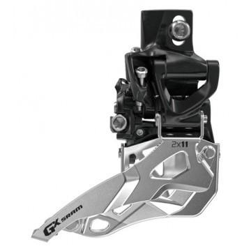 SRAM GX Umwerfer 2x10-fach - High DM - 22/36 und 24/38 Zähne - Top Pull