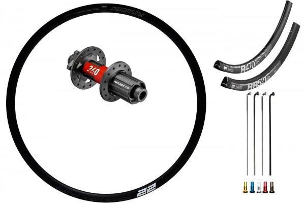 DT Swiss 240 EXP Road Disc IS Custom Rear Wheel Road Racing disc