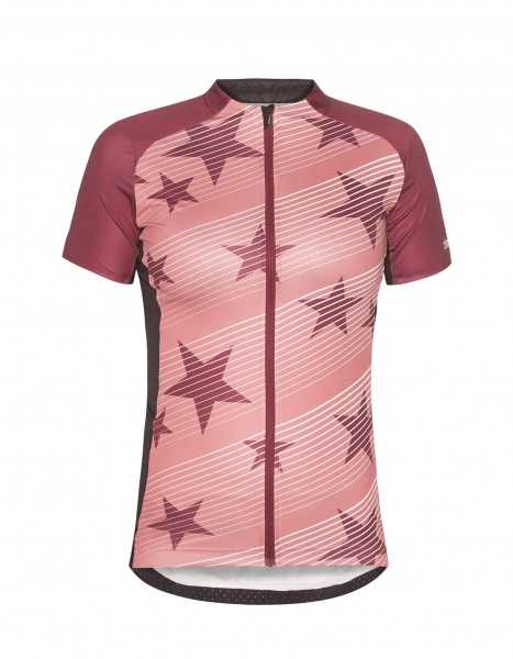 Zimtstern Bike Jersey Bellinz Women ruby wine