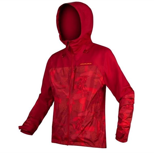Endura Singletrack Jacket waterproof rust red