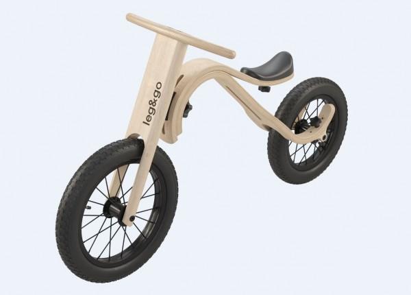"Leg&go Balance Bike 3in1 - Wandelbares leg&go 3in1 Laufrad, 1-5 Jahre, 14/12"""