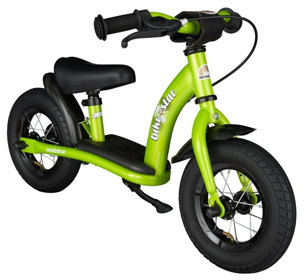 Bikestar safety children's wheel bike Classic 10'' brilliant green